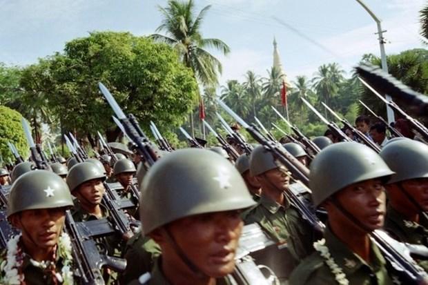 缅甸在若开邦北部部分地区实施宵禁 hinh anh 1