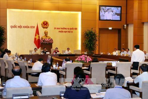 越南第十四届国会常委会第十三次会议讨论《渔业法》和《森林保护与发展法》两项法案 hinh anh 1