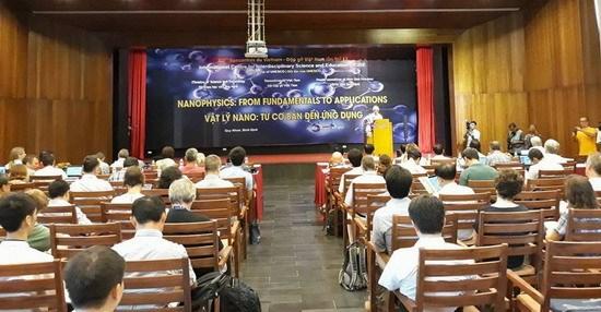 """""""味物理学""""国际科学研讨会在越南平定省举行 hinh anh 1"""