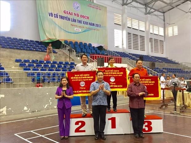 2017年第26届越南传统武术锦标赛正式闭幕 hinh anh 1