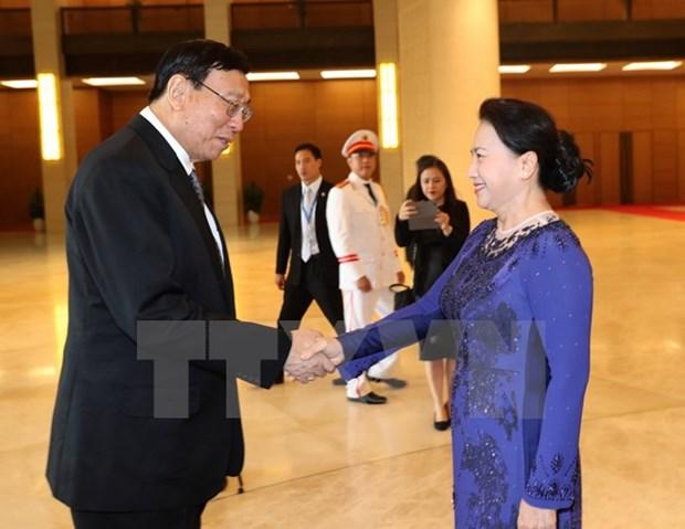 泰国立法议会议长蓬佩圆满结束对越南的正式访问 hinh anh 1