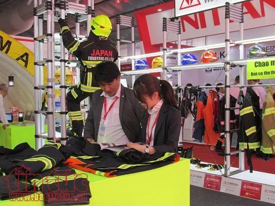 2017年越南消防救灾技术与设备国际展览会正式开幕 hinh anh 1