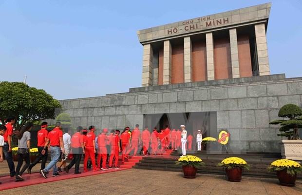 胡志明主席陵、英雄烈士纪念碑将暂停开放 hinh anh 1