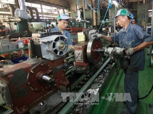 越南一家农业机械公司把农业机械带到世界各地 hinh anh 1