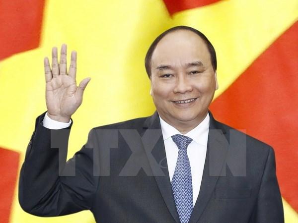 越南政府总理阮春福启程对泰国进行正式访问 hinh anh 1