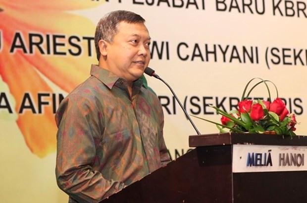 印度尼西亚国庆72周年纪念典礼在河内举行 hinh anh 1