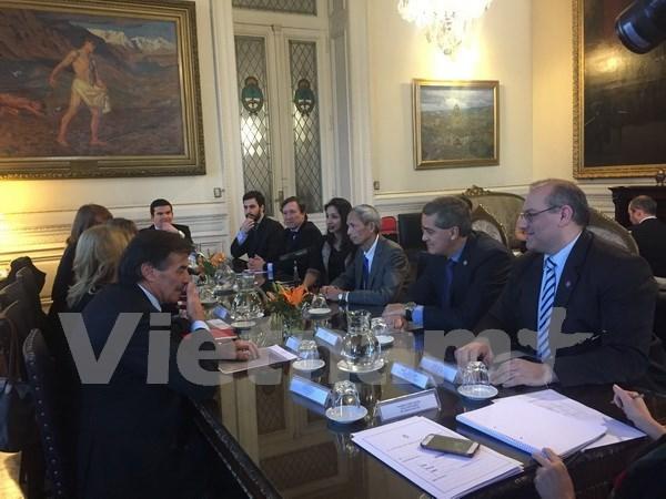 阿根廷-越南议员友好小组正式成立 hinh anh 1