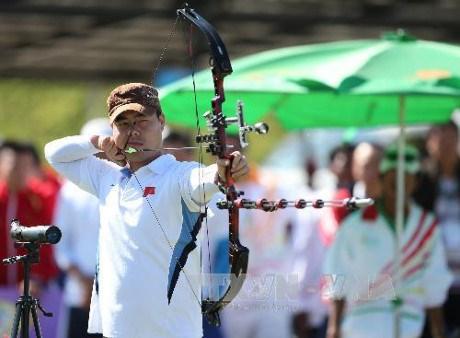 第29届东南亚运动会:越南体育代表队获得一枚射箭铜牌 hinh anh 1