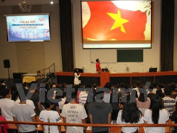 第三届旅居欧洲越南青年与大学生夏令营在捷克举行 hinh anh 1