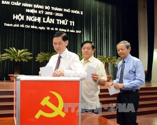 越共胡志明市第十届委员会第十一次全体大会今日上午开幕 hinh anh 3