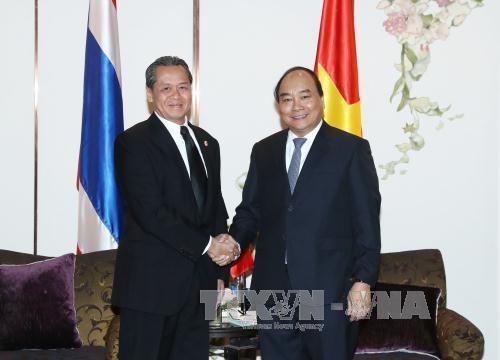 阮春福总理:越泰企业合作有利于促进两国战略伙伴关系发展 hinh anh 1