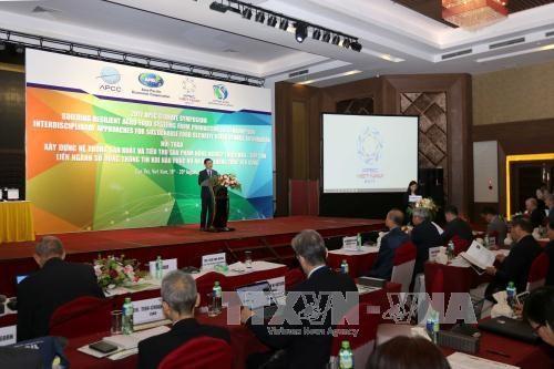 2017年APEC会议:粮食安全周在芹苴市开幕 与会代表近1500人次 hinh anh 1