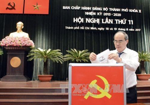 越共胡志明市第十届委员会第十一次全体大会今日上午开幕 hinh anh 2