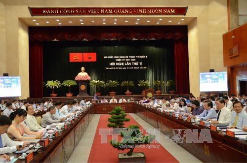越共胡志明市第十届委员会第十一次全体大会今日上午开幕 hinh anh 1
