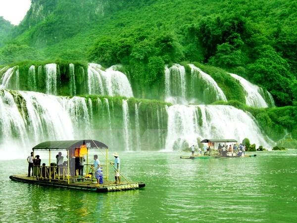 充分发挥高平省板约瀑布旅游区的潜力与优势 hinh anh 2