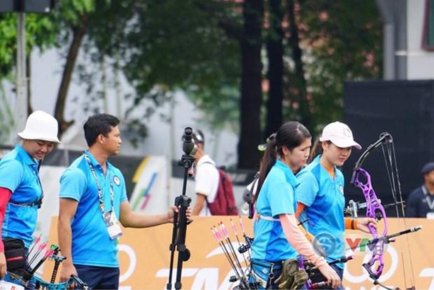 第29届东南亚运动会:越南队暂时排在第七位 hinh anh 1