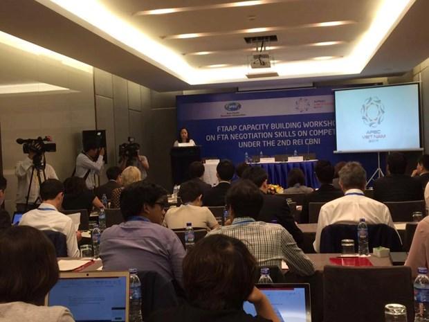 2017年APEC贸易投资委员会强调FTA竞争政策谈判技巧的重要性 hinh anh 1