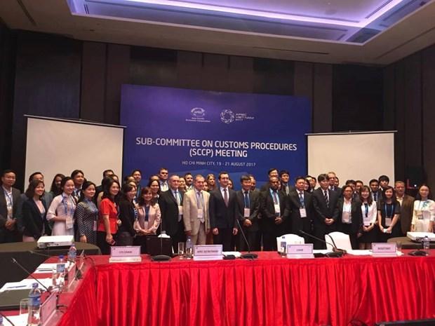 APEC海关手续分委会第二次会议在胡志明市召开 围绕八项重点议题 hinh anh 1