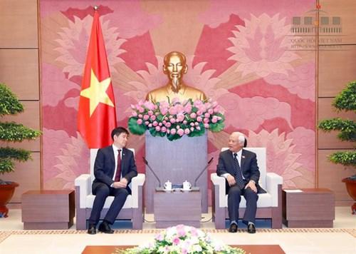越南国会副主席汪周刘会见蒙古国国家大呼拉尔秘书处代表团 hinh anh 1