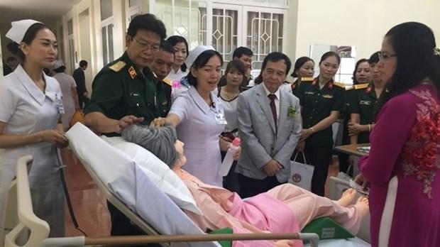 日本协助越南培训高素质护理人员 hinh anh 1