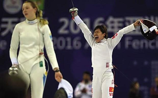 第29届东南亚运动会:阮氏如花为越南体育代表团夺得第十枚金牌 hinh anh 1