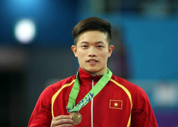 第29届东南亚运动会:邓南为越南体育代表团夺得第九枚金牌 hinh anh 1