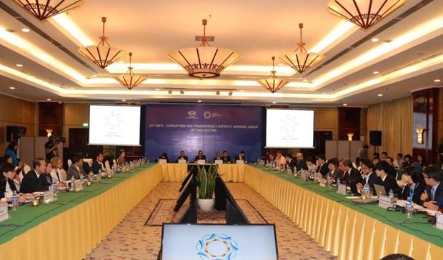 APEC反腐败与透明化工作组会议:越南倡议获APEC成员广泛关注 hinh anh 1