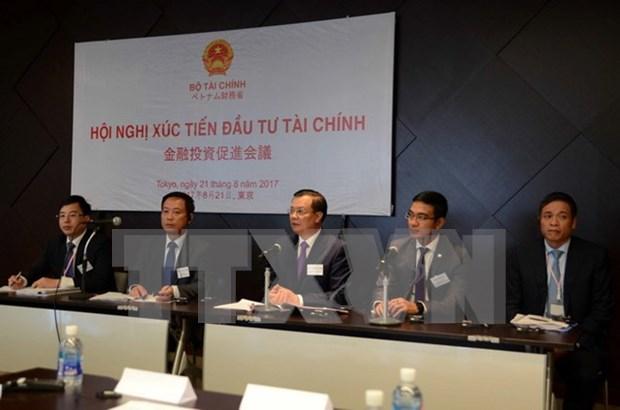 大力推动日本企业对越南金融领域进行投资 hinh anh 1