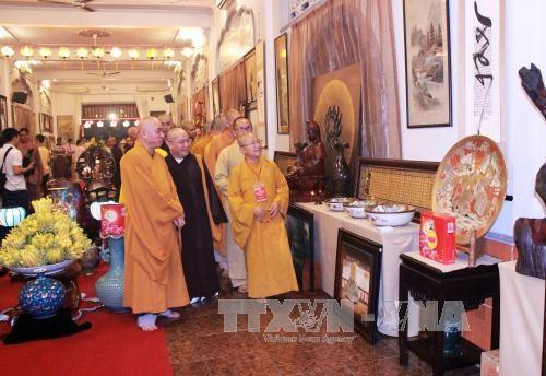 庆祝佛历2561年盂兰节的佛教文化周在胡志明市正式开幕 hinh anh 1