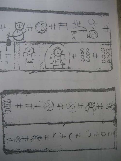 古文字—越南巴天族的独特文化之象征 hinh anh 3