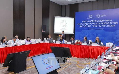 2017年APEC会议:APEC第三次高官会及相关会议进入第五天 聚焦讨论医疗卫生政策 hinh anh 2