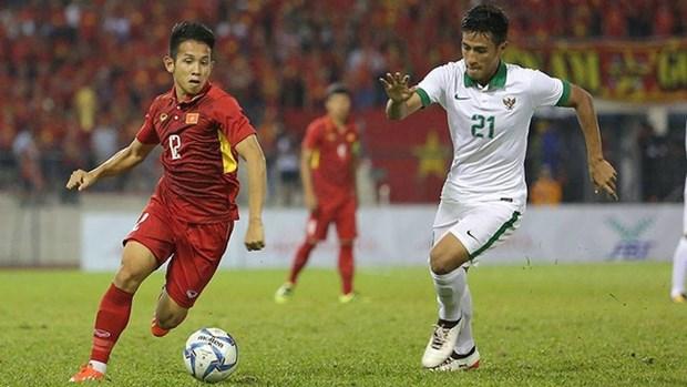 第29届东南亚运动会男足比赛:越南队与印度尼西亚队0-0握手言和 hinh anh 1
