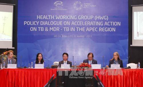 2017年APEC:加强APEC地区结核病和多重耐药结核病预防工作政策对话 hinh anh 1