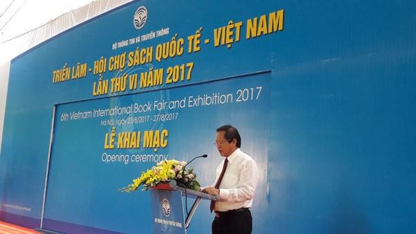 2017年第六届越南国际图书博览会热闹开展 hinh anh 2