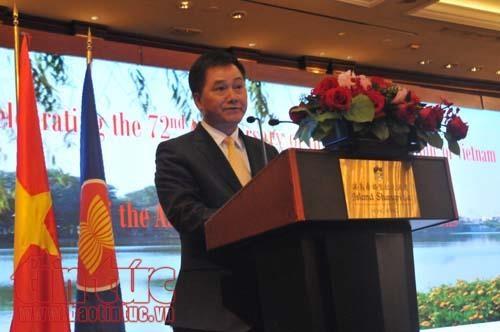 越南国庆72周年纪念典礼在中国香港举行 hinh anh 1