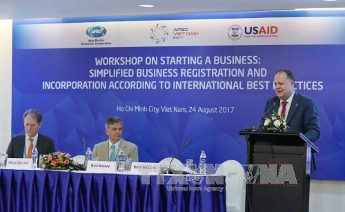 2017年APEC经济委员会:致力简化企业注册程序优化审批流程 hinh anh 1