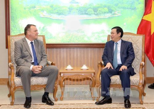 政府副总理王廷惠会见比利时、斯洛伐克和欧盟驻越南大使 hinh anh 2