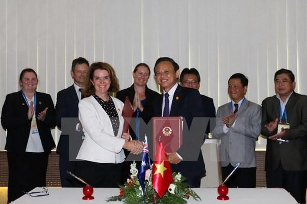 2017年APEC会议:越澳两国加强在预防非法捕鱼领域的合作 hinh anh 1