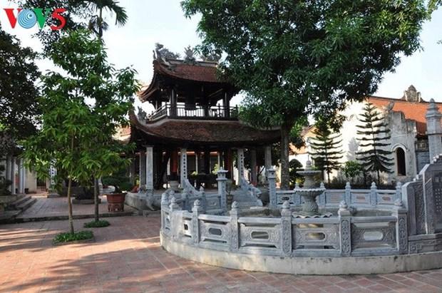 拥有越式和法式建筑的巨沱村 hinh anh 1