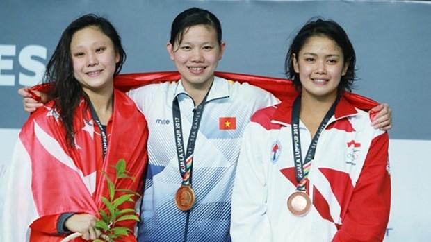 第29届东南亚运动会:越南夺得38枚金牌在奖牌榜上名列第二 hinh anh 1