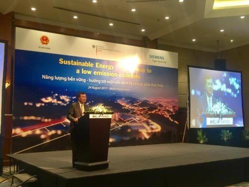 越南与德国加强可持续能源合作 hinh anh 1