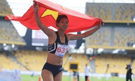 第29届东运会:越南田径和跆拳道运动员连续夺得奖牌 hinh anh 1