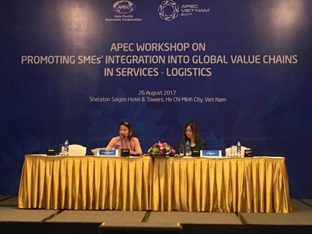 2017年APEC会议: 促进中小型企业参与全球物流供应链 hinh anh 1