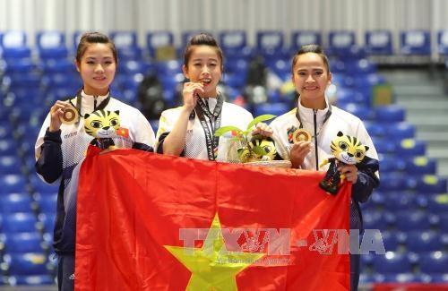 第29届东南亚运动会:27日越南体育代表团再夺一金三银 hinh anh 1