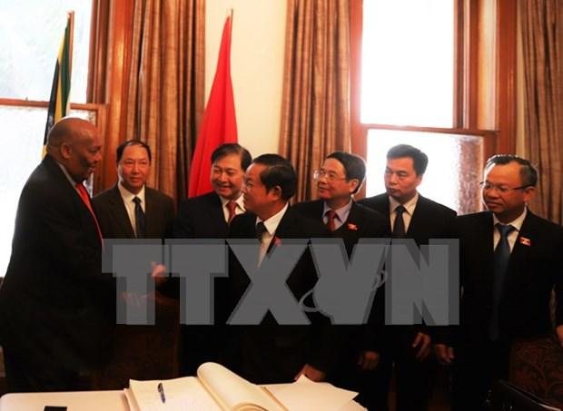 越南国会高级代表团圆满结束对南非进行工作访问 hinh anh 1