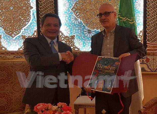 越南与阿尔及利亚加强经贸合作关系 hinh anh 1