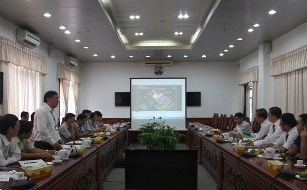 韩国和欧洲企业来到后江省寻找投资商机 hinh anh 1