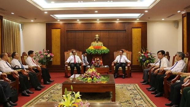 越老建交55周年:越南和平省与老挝琅勃拉邦省加强合作 hinh anh 1