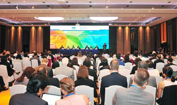 2017年APEC会议:加强配合确保区域经济、金融和社会包容性发展 hinh anh 1