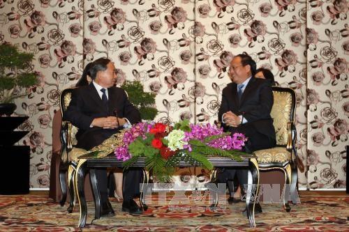 胡志明市领导会见中国政协外事委员会代表团 hinh anh 1
